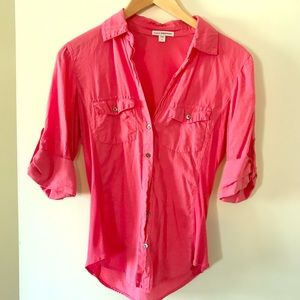 Stunning pink James Perse Blouse/Shirt